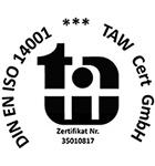 Zertifizierung 14001